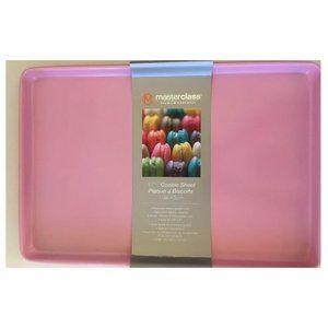 """MasterClass Pink 17"""" Cookie baking sheet pan NEW"""